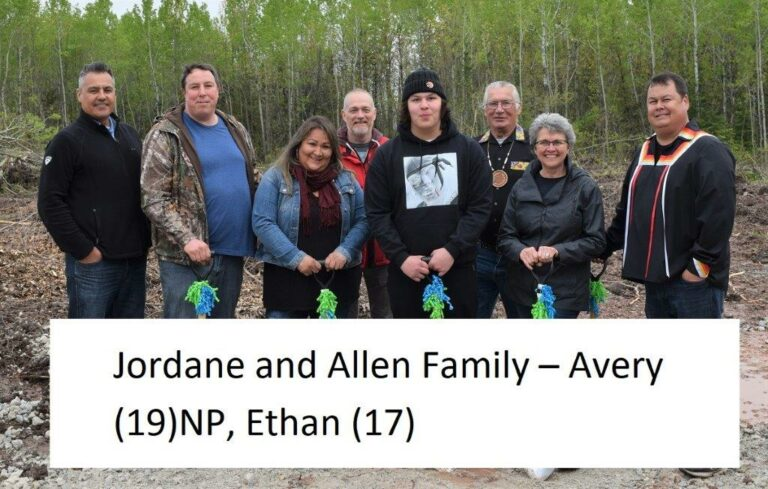 Jordane and Allen Family with names