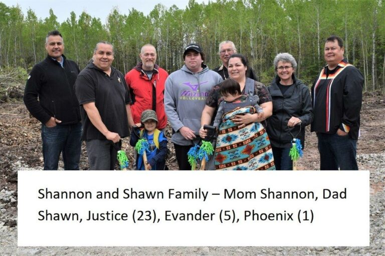 Shannon and Shawn family with names