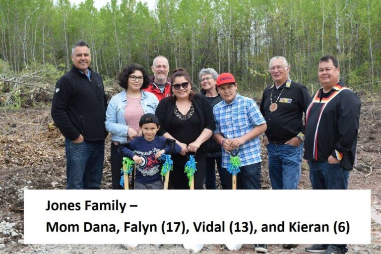jones family with names